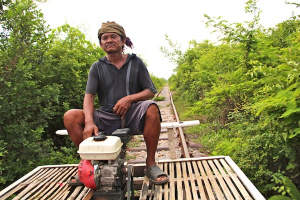 Thumbnail image for The Bamboo Express – A Rough n Tumble Ride On Cambodia's Bamboo Train