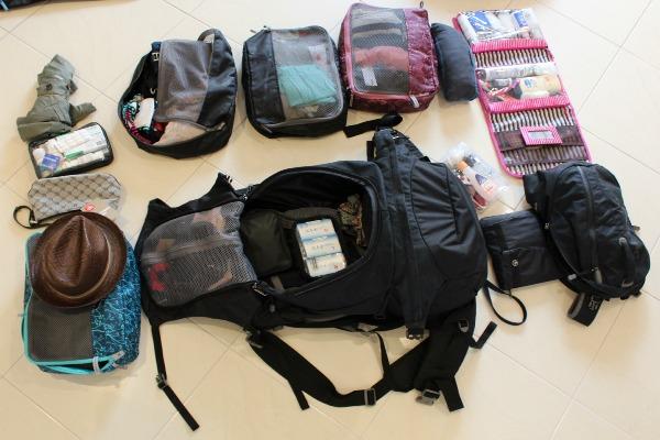 Anna's pack Macpac Gemini 75