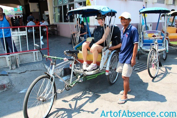 Getting Around in Kanchanaburi Thailand