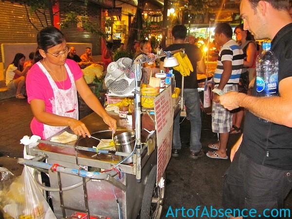 Nutella Crepes in Bangkok