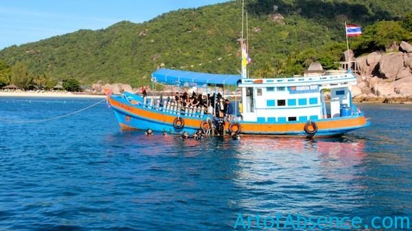 Dive Boat - Koh Tao Thailand