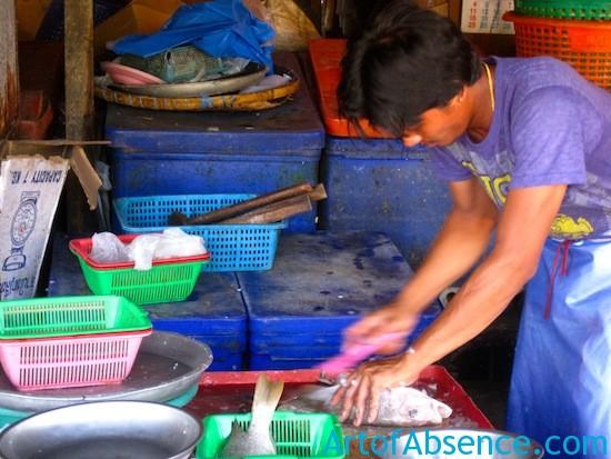 Fresh Seafood Market Koh Samui Thailand