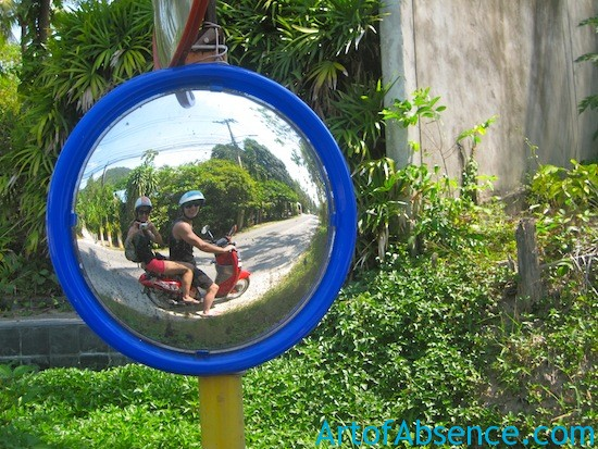 Getting Around Koh Samui by Scooter