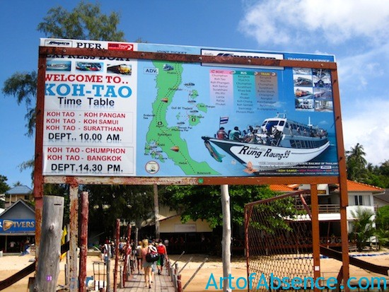 Welcome To Koh Tao Thailand