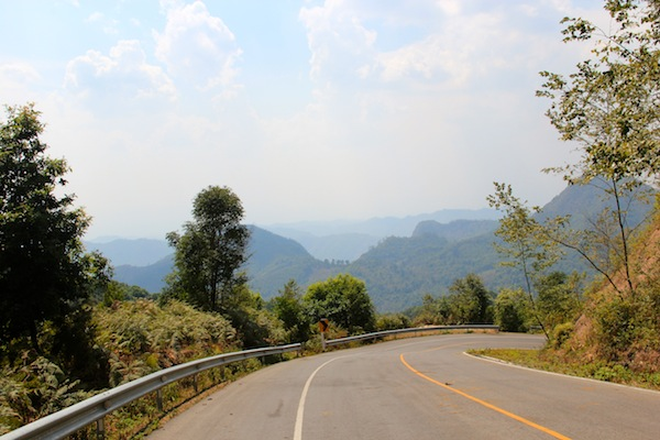 Bends On The Mae Hong Son Loop