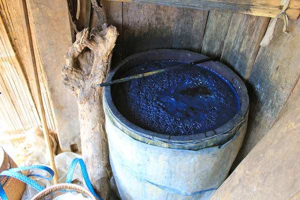 Blue Fabric Dye Sapa