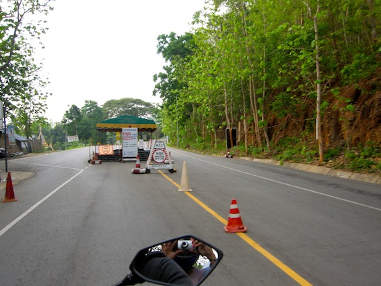 Checkpoints On The Mae Hong Son Loop