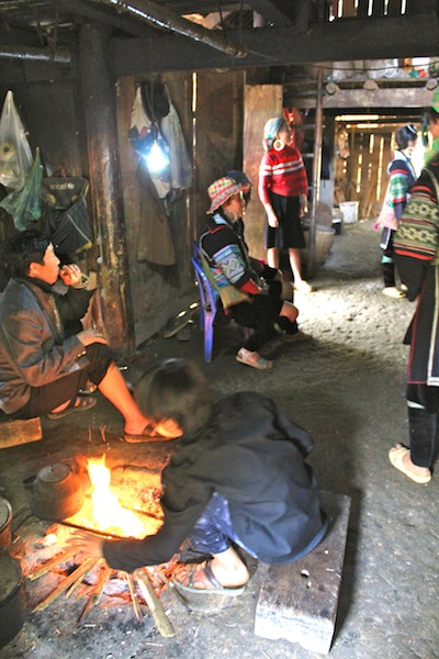 Inside Our Guides Home In Sapa