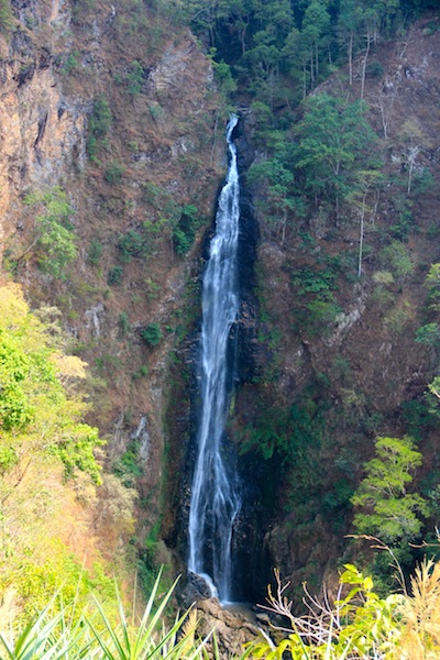 Mae Surin Falls From Thailand