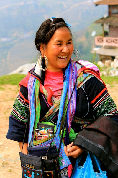 Minority Villagers In Sapa