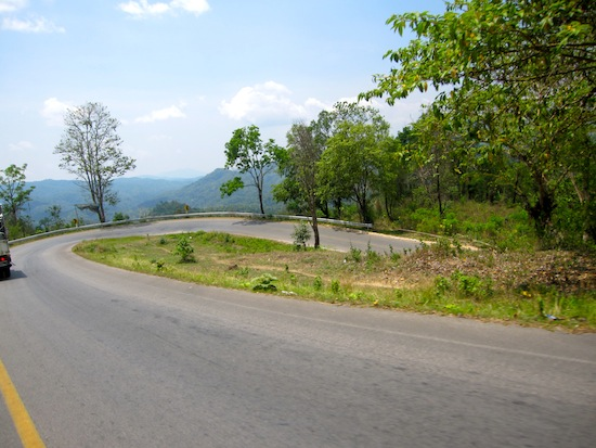 Pai To Chiang Mai Road