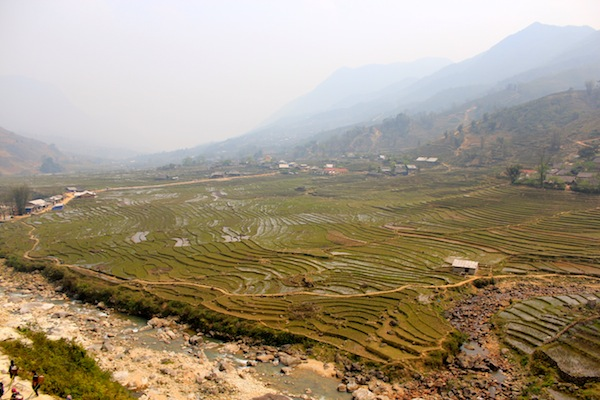 Panoramic Views On Our Trek Of Sapa