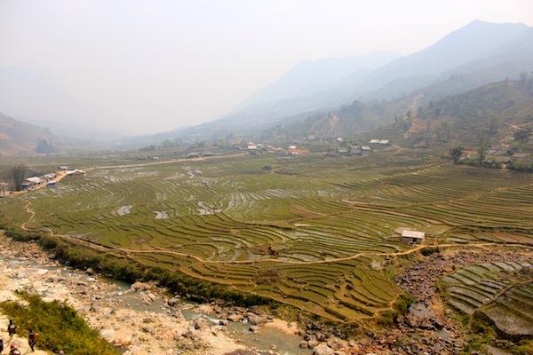 Panoramic Views On Our Trek Of Sapa