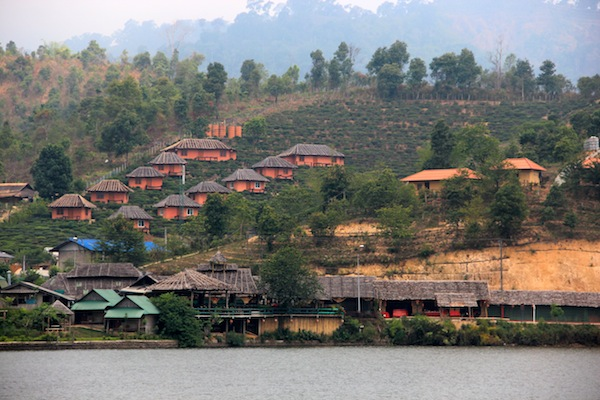 Tea Plantations In Ban Rak Thai