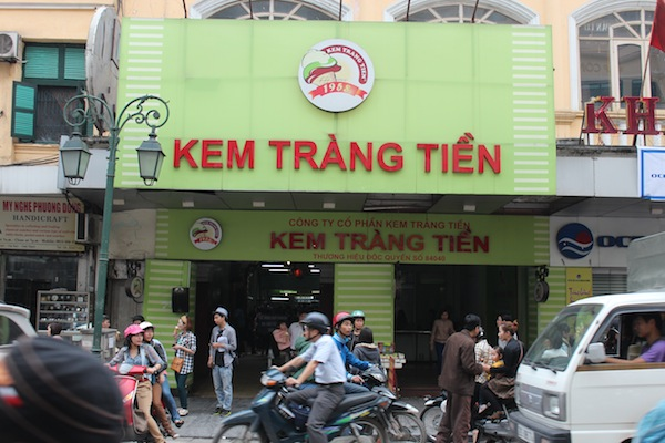 Vietnamese Ice Cream Hanoi