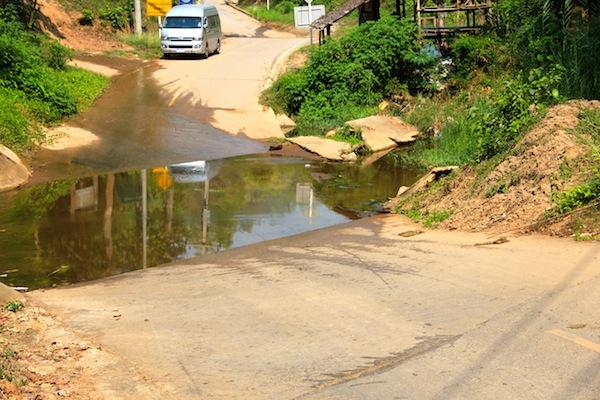 Water Crossings Northern Thailand
