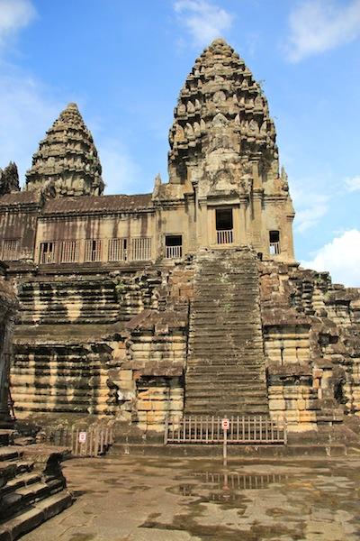 Angkor Wats Spires
