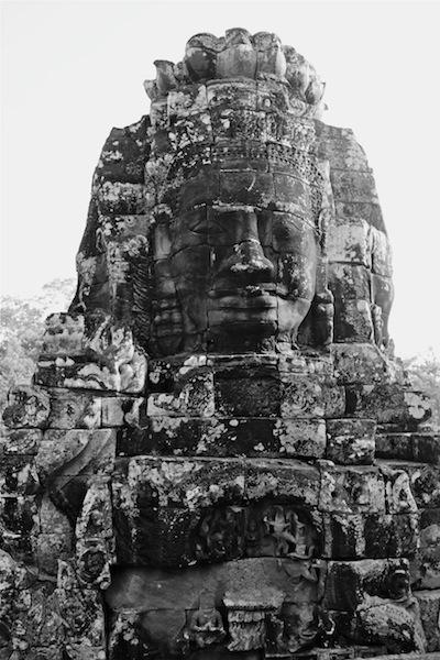 Bayon Temple Buddha