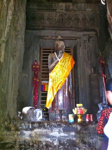 Buddha In Angkor Wat