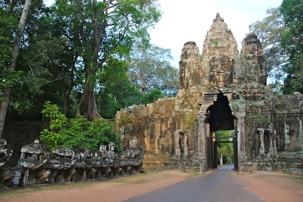Entrance Gates of Angkor