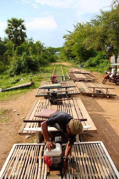 High Horsepower Bamboo Trains