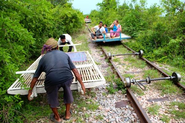 Bamboo Railway Cambodia