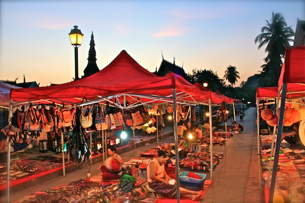 Night Markets Luang Prabang