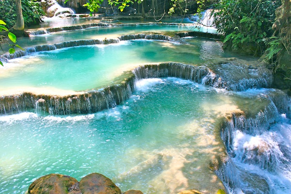 Kwang Si Waterfalls Loas