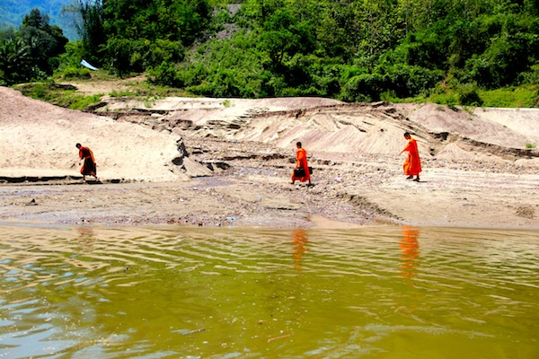 Monks Near Luang Prabang