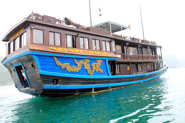 Our Boat Cruise ha Long Bay a