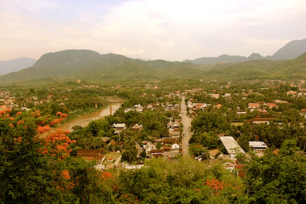 Views Over Luang Prabang