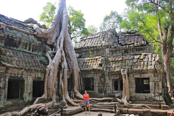 Ta Prom Cambodian Temple