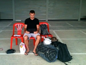 Backpacking in se asia