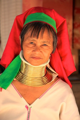 Longneck Hilltribe Woman