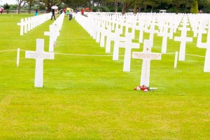 Roosevelt graves normandy
