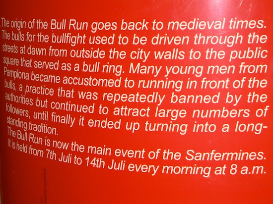 The origins of the bull run