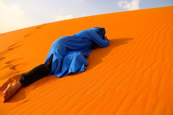 desert nomads in morocco